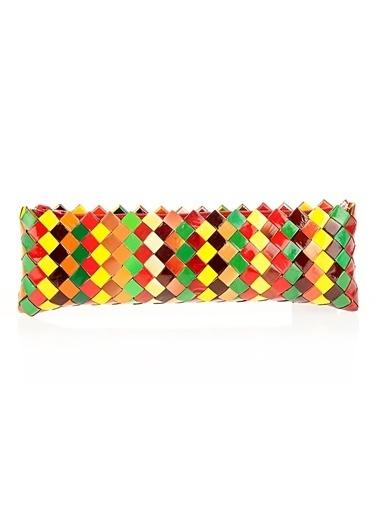Çöpmadam Clutch / El Çantası Renkli